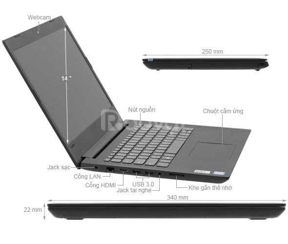 Small Business Lenovo V130-14IKB (81HQ00EQVN) (Iron Grey)