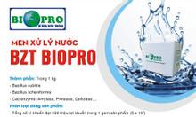 Men vi sinh xử lý Biopro Khánh Hòa nền đáy ao tôm cá sạch nhầy nhớt