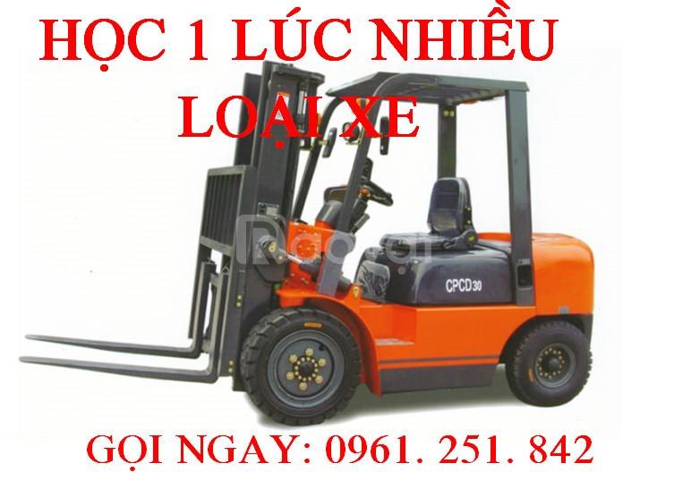 Học lái xe nâng chứng chỉ nhanh tại Tây Ninh Tiền Giang Bạc Liêu