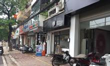 Bán đất mặt phố Bà Triệu nở hậu, mặt tiền rộng, kinh doanh sầm uất