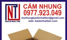 Cung cấp thùng carton 3 lớp - Công ty bao bì Nhật Tiến