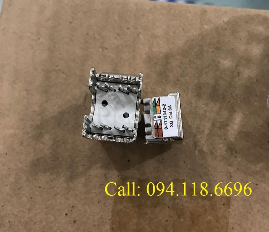 Patch Panel CommScope AMP Cat6A chống nhiễu 24 cổng mã 1933319-2