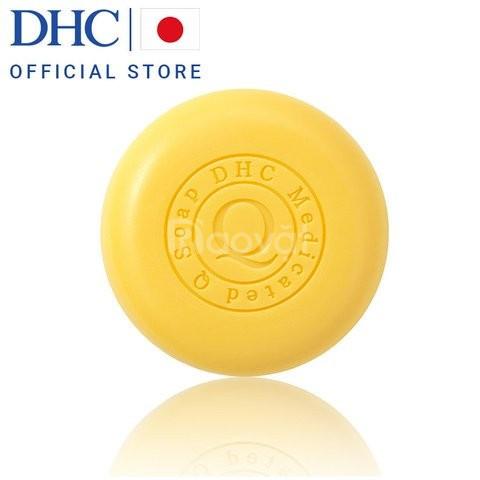 Xà bông rửa mặt siêu năng DHC Q Soap 100g