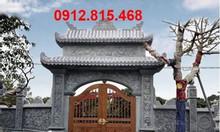 Mẫu cổng đá nhà thờ họ, cổng làng, cổng đình, cổng chùa