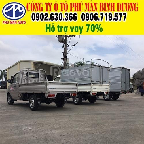 Ưu đãi 50 triệu trong tháng 10 khi mua xe tải Foton 990kg