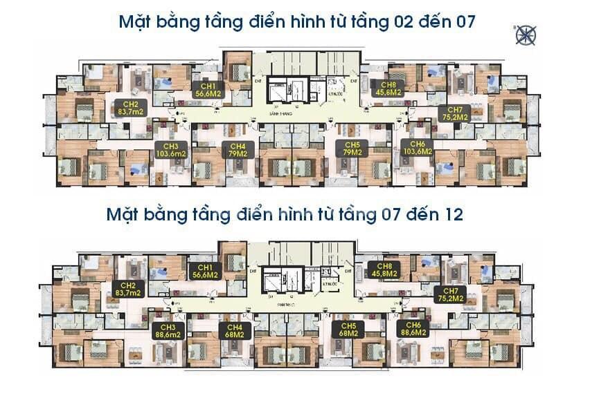 Chung cư Cầu Giấy căn góc ĐN 80m2 chỉ 2 tỷ, miễn phí bảo trì