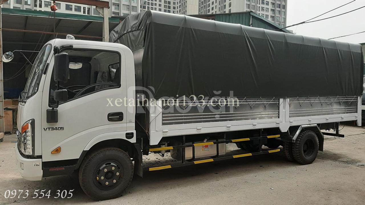 Xe Veam 3,5 tấn, máy isuzu, thùng dài 6m2.