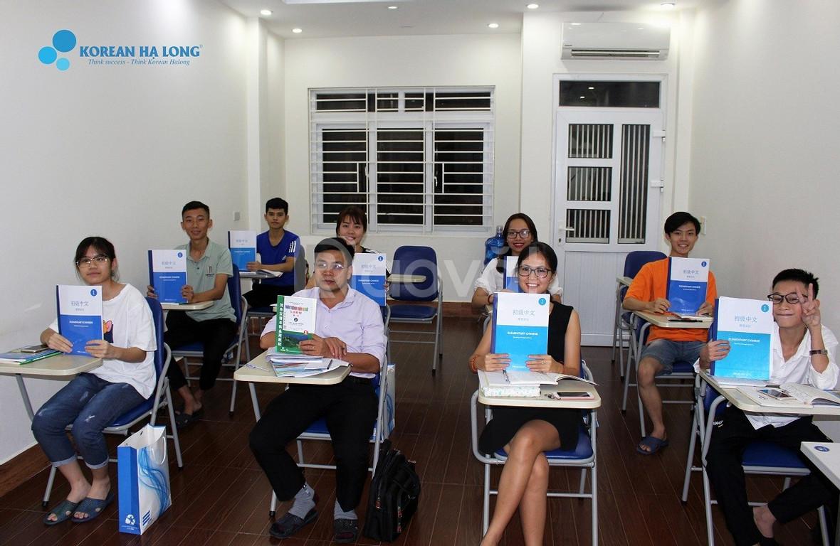 Khai giảng hàng tháng các khóa tiếng Trung tại Quảng Ninh