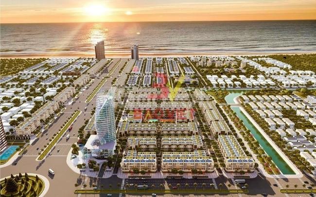 Melody City dự án giữa dòng thành phố biển.