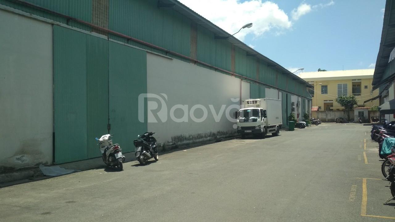Cho thuê gấp kho xưởng đường Cộng Hoà, P.4, Tân Bình, DT 24.814m2