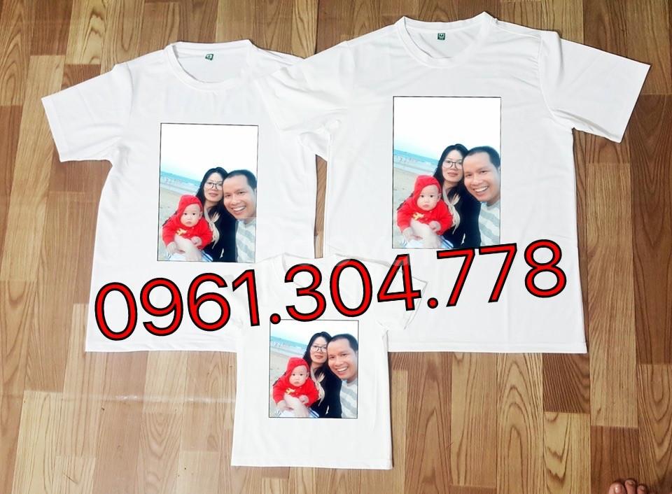 Áo thun gia đình - in áo thun gia đình theo yêu cầu