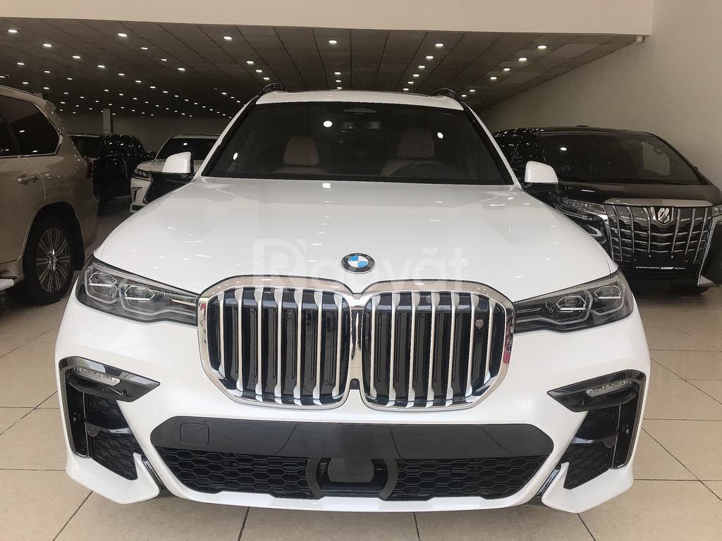 Bán BMW X7 Msport phiên bản thể thao cao cấp Model 2020