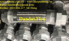 Ống ruột gà lõi thép bọc inox, khớp nối mềm inox, ống mềm inox 304