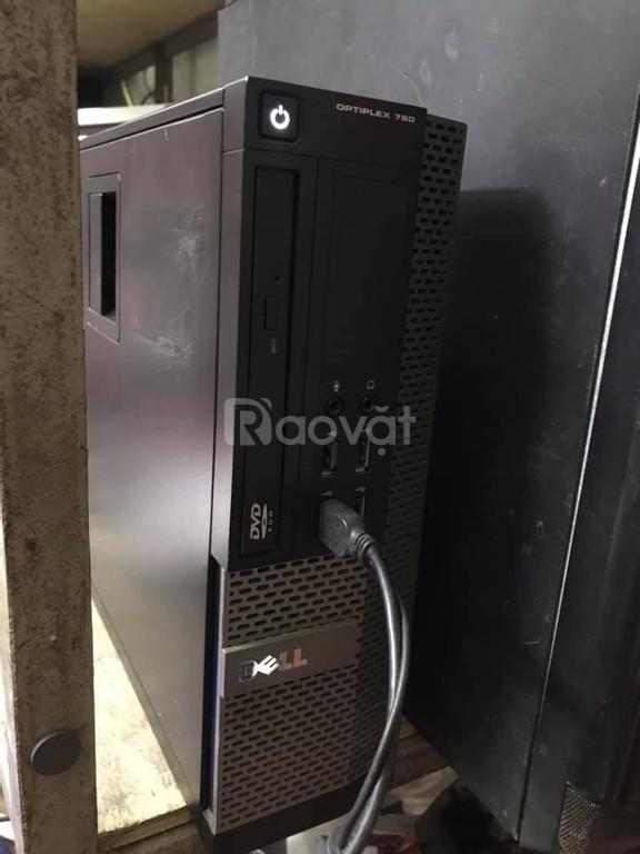 Bán bộ Dell optiplex 790 ram3 4G mới lcd 19 ssung