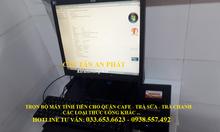 Máy tính tiền cho quán Cafe, Trà Sữa giá rẻ tại Tân Bình