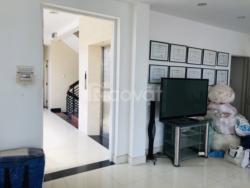 Bán nhà cao tầng hẻm 220 Lê Văn Sỹ, P14, Quận 3 giá 40 tỷ