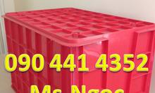 Bán rổ nhựa đựng trái cây, sọt nhựa HDPE công nghiệp TP HCM