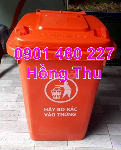 Gía thùng rác 60 lít, thùng rác 60 lít giá bao nhiêu tại TPHCM