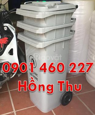 Thùng rác y tế 240L giá rẻ tại TPHCM