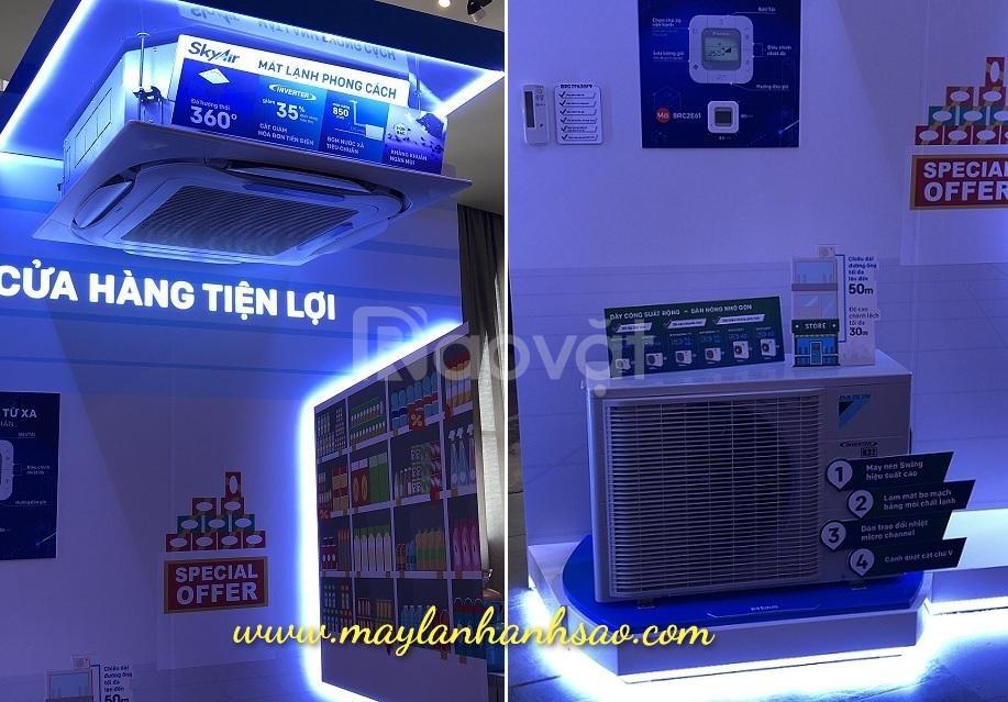 Máy lạnh âm trần Daikin FCFC50DVM/RZFC50DVM Inverter Gas R32