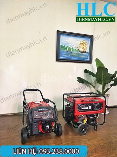 Phân phối máy phát điện chạy xăng Tomikama chính hãng tại Hà Nội