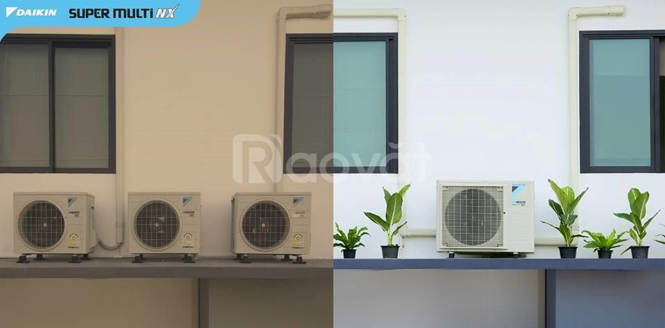 Hệ thống máy lạnh cho căn hộ chung cư