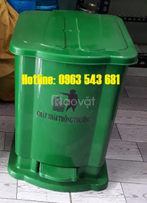 Thùng rác y tế 15l, thùng rác bệnh viện 20l, thùng rác 30l