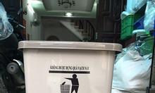 Thùng rác 15l màu xám, thùng rác đựng chất thải thông thường còn lại