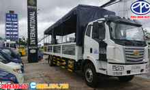 Giá xe tải FAW 8 tấn xe tải thùng dài 9m, 9m7, 10m tải trọng 8 tấn