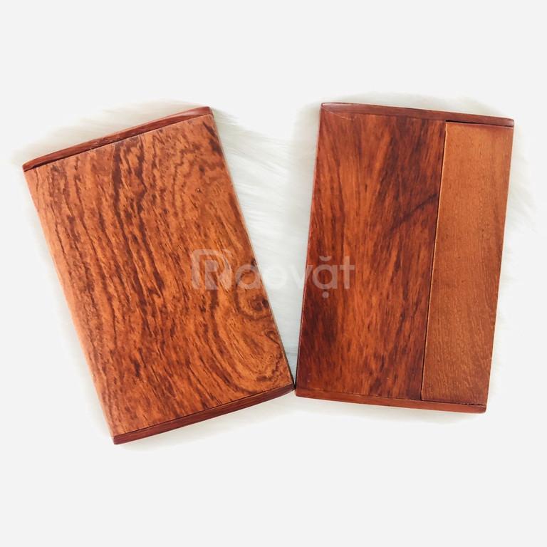 Ví đựng card visit, hộp đựng name card bằng gỗ