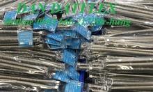Ống mềm phòng cháy chữa cháy-dây cấp nước mềm inox-lưới kép inox.