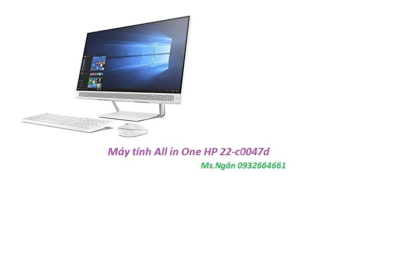 Máy tính All in One HP 22-c0047d