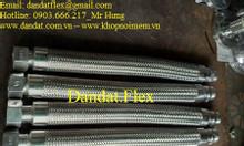 Hỏi giá Dân Đạt: Khớp nối mềm kết nối mặt bích, ống nối mềm inox 304
