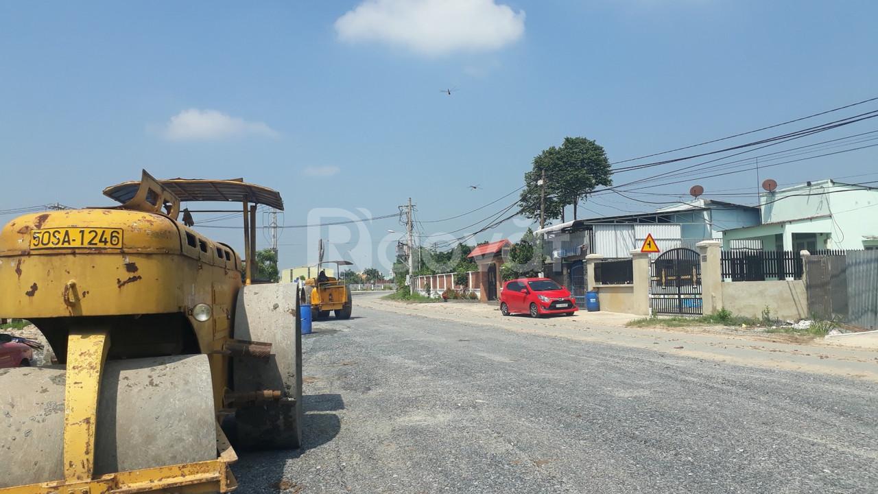 Bán đất mặt tiền đường nhựa 20m tại Tân Phú Trung Củ Chi, gần chợ Sáng