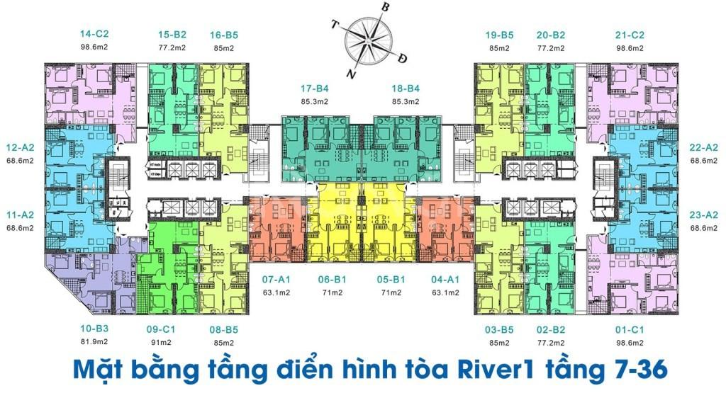 Ra mắt tòa Euro River Tower dự án Eurowindow river park