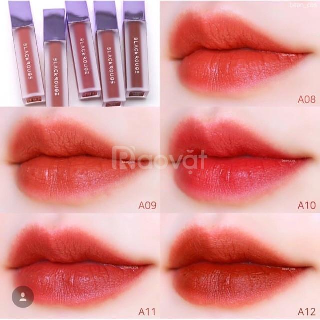 Review son Black Rouge Air Fit Velvet Tint Decito