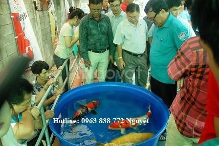 Thùng nhựa tròn 1000 lít nuôi cá koi