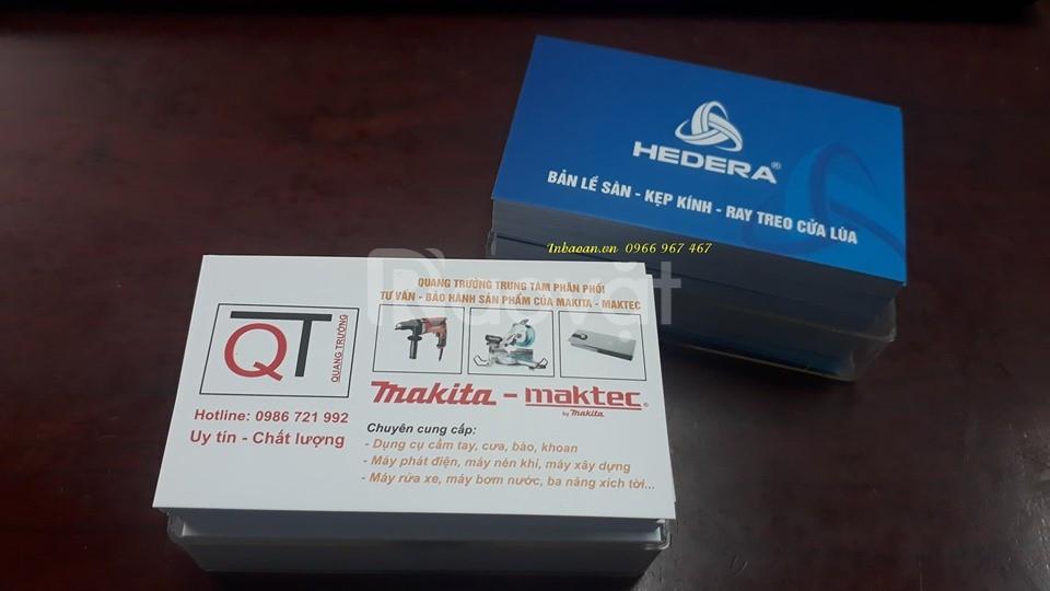 In card visit, địa chỉ in card nhà hàng, in card lấy nhanh