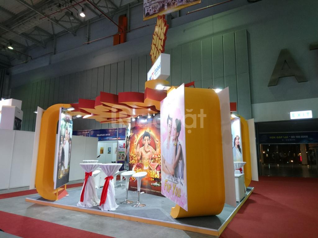 Booth Event sự kiện, gian hàng triễn lãm, booth quảng cáo, booth event