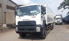 Xe tải ISUZU FVM 3 chân 15T thùng kín bửng nâng