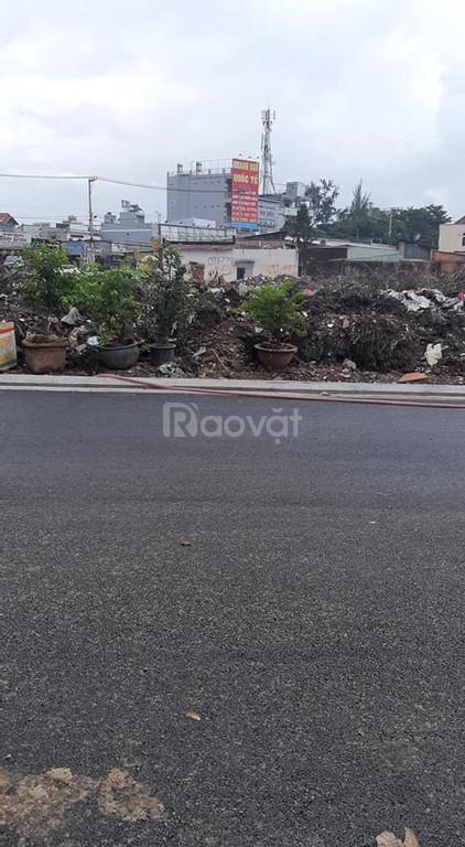 Bán lô đất góc 2 mặt tiền hẻm nhựa cực to Hà Huy Giáp, gần ngã tư Ga