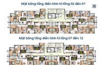 Trung tâm Cầu Giấy căn góc 3 phòng ngủ 103.6m2, giá chỉ 2.6 tỷ
