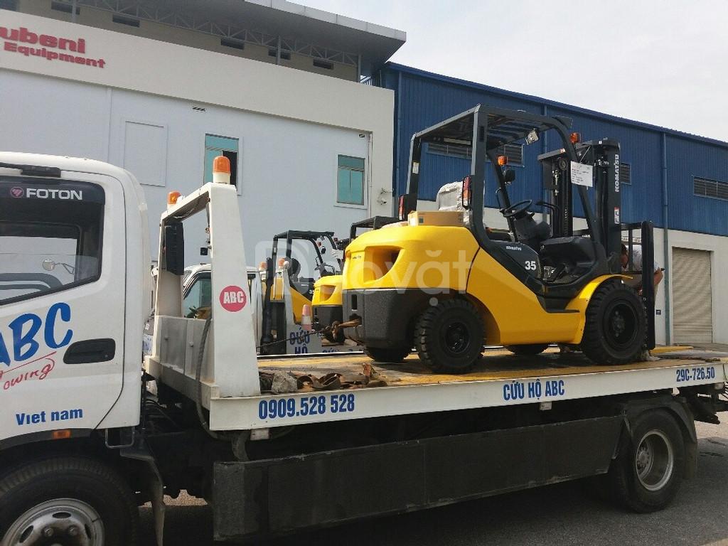 Tổng đại lý xe nâng Komatsu Nhật 3.0 tấn, FD30T-17, sx 2019 nhật