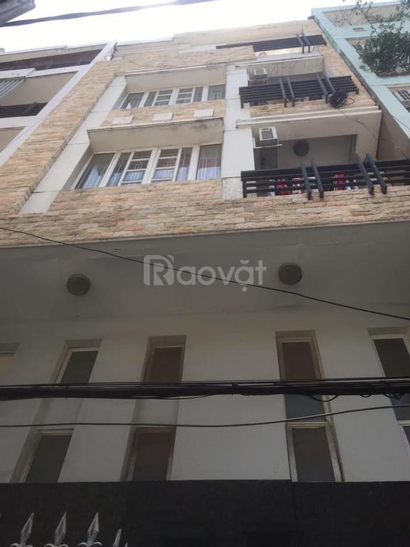 Bán nhà 5 tầng, CHDV, đường Nguyễn Thiện Thuật, Quận 3.