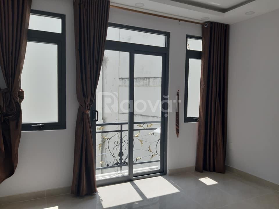 Bán nhà mới hẻm ôtô  4 lầu 45m2 Nguyễn Văn Trỗi, Phú Nhuận, 8 tỷ