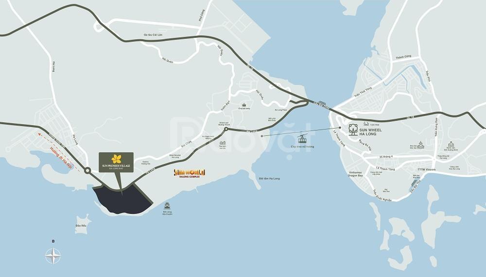Chỉ 10 tỷ sở hữu căn biệt thự nghỉ dưỡng mặt biển TP Hạ Long