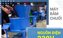 Máy băm chuối đa năng ở Bắc Giang phục vụ chăn nuôi giá rẻ