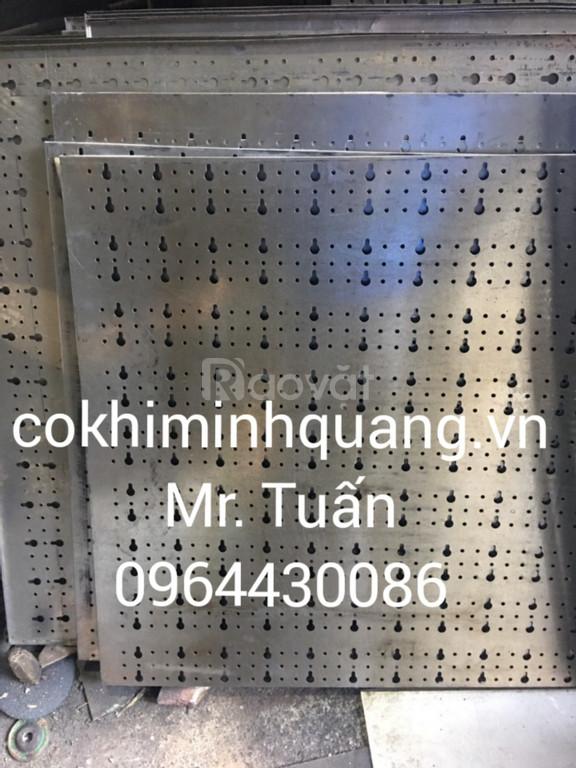 Gia công thép lưới đục lỗ từ 0,3-10mm