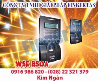 Máy chấm công vân tay kiểm soát cửa bàn phím cảm ứng WSE 850A