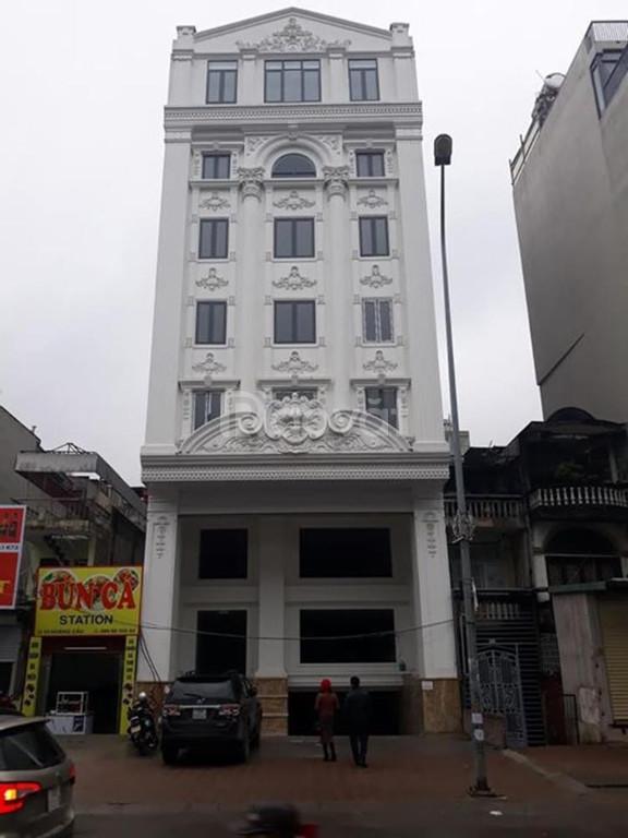 Bán nhà ngõ 255 Phạm Hùng, 130m, 8 tầng, mt 8m, 10.35 tỷ, full nt